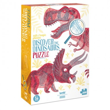 Puzzle Discover the Dinosaurs Londji